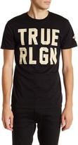 True Religion Printed Crew Neck Tee