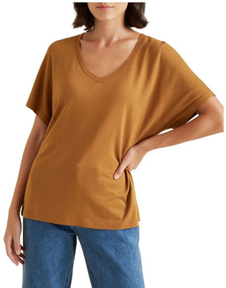 Seed Heritage V Neck Classic Tee