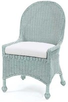 The Well Appointed House Eastern Shore Wicker Dining Chair-Available in a Variety of Finishes