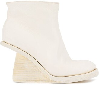 Guidi Wedge Ankle Boots