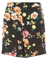Dorothy Perkins Womens 3Loral Side Button Short