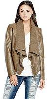 GUESS Women's Long Sleeve Aileen Sweater Mix Jkt
