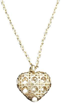 Christian Dior Gold Gold plated Pendants