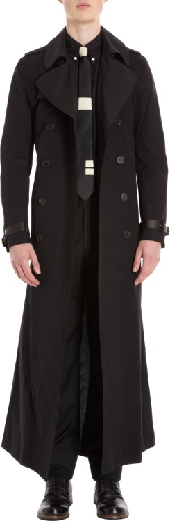 Band Of Outsiders Extra Long Trenchcoat