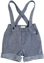Il Gufo Cotton Sweat Shorts W/ Suspenders