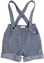 Il Gufo Cotton Sweat Shorts W/ Suspenders