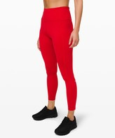 """Lululemon Fast and Free Tight II 25"""" *Non-Reflective Nulux"""