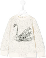 Stella McCartney swan speckled jumper