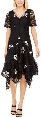 Taylor Embroidered Lace Dress