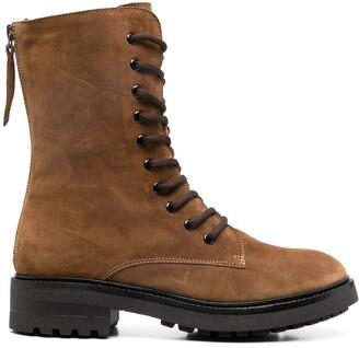 P.A.R.O.S.H. Lace-Up Combat Boots