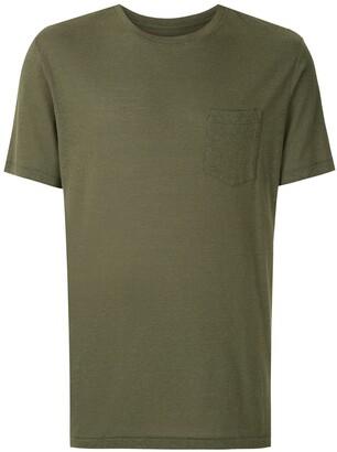 OSKLEN chest pocket crew neck T-shirt