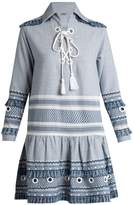 DODO BAR OR Gadielle tassel-embellished cotton dress