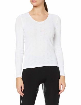 Damart Women's Haut Col Rond Petits Curs Thermolactyl Degre 3 Thermal Top