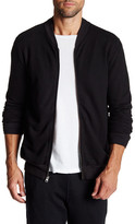 Velvet by Graham & Spencer Shawl Neck Zip Sweatshirt