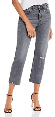 Levi's Wedgie Straight Jeans in Cabo Smoke
