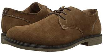 Nunn Bush Linwood Plain Toe Oxford (Camel Suede) Men's Plain Toe Shoes