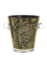 Jonathan Adler Malachite-Pattern Ice Bucket