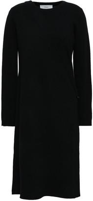 Pringle Wrap-effect Wool And Cashmere-blend Midi Dress