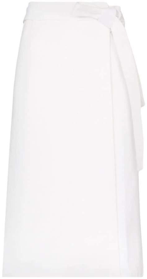 e34b5e8551 High Waist Cotton Skirt - ShopStyle