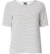 Dorothy Perkins Womens **Vero Moda Navy Striped Jersey Top- Blue