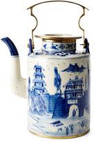 One Kings Lane 13 Great Wall Teapot, Blue/White