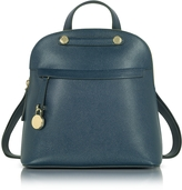 Furla Piper M Embossed Leather Backpack