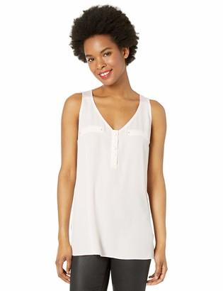 Amy Byer A. Byer Womens Junior V-Neck Tank Top (Junior's) Shirt