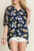 Umgee USA Flower Child Blouse