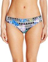 Kenneth Cole Reaction Women's Hot Tropic Scrunch Back Hipster Bikini Bottom