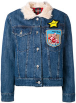 Miu Miu multi-patch denim jacket