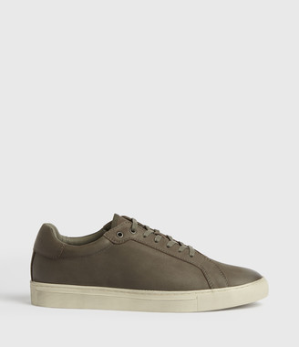 AllSaints Stow Low Top Leather Sneakers