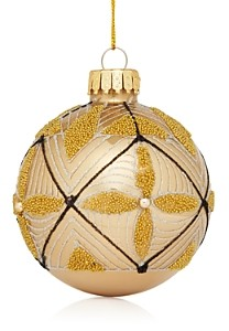 Bloomingdale's Glass Ball Ornament - 100% Exclusive