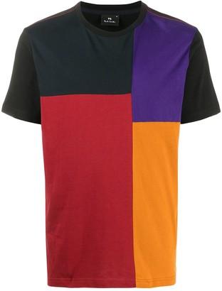 Paul Smith short-sleeved block colour T-shirt