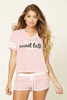 Forever 21 Sweet Talk PJ Set
