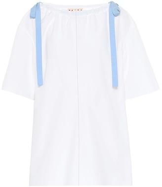 Marni Cotton-poplin blouse