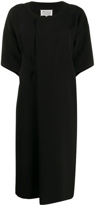 Maison Margiela pleated T-shirt dress