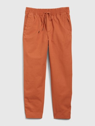 Gap High Rise Smocked Pull-On Joggers