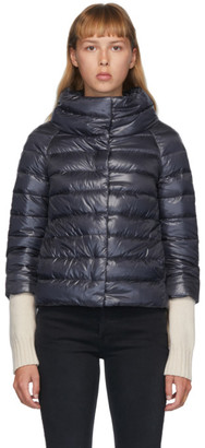 Herno Navy Down Sofia Jacket