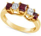 Macy's Certified Ruby (3/4 ct. t.w.) & Diamond (1/3 ct. t.w.) Ring in 14k Gold