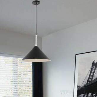 Orren Ellis Neddy 1 - Light Single Cone Pendant