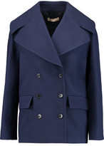Michael Kors Cotton-Crepe Coat