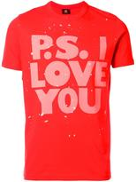 Paul Smith 'P.S.I Love You' T-shirt