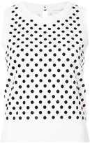 Marc Jacobs polka dot knitted vest