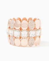 Charming charlie Disco Polish Stretch Bracelet