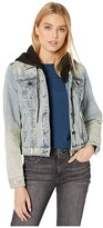 Blank NYC Denim Jacket with Hood in Casual Encounter (Casual Encounter) Women's Coat