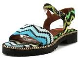 Missoni Raschel Zigzag Women Open-toe Synthetic Multi Color Slingback Sandal.
