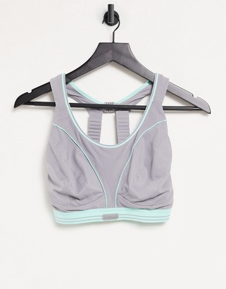 Shock Absorber Ultimate Run sports bra in grey