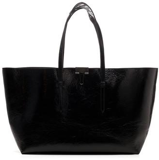 Off-White Binder Clip Tote Bag