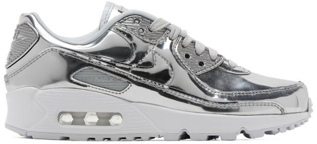 Metallic Silver Sneakers | Shop the