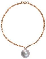 Ora Pearls Alba Grey Pearl Bracelet Gold